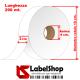 Rotolo nastro in raso per etichette tessili composizioni e simboli lavaggio