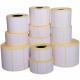 Rotolo da 500 etichette adesive mm 100x100 Termiche 1 pista anima 40