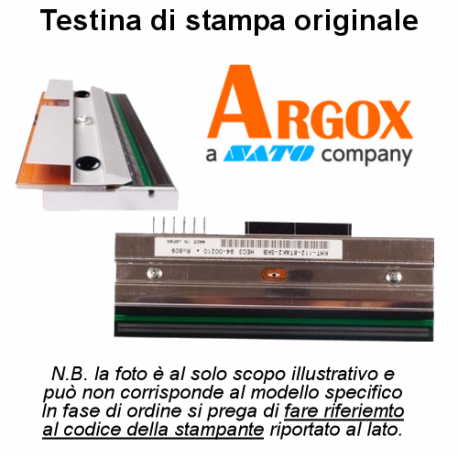 TESTINA ARGOX X1000 X2000 RICAMBIO