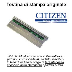 Testina Citizen per stampa termica - ricambio stampante CLP - CLS