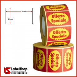 etichette adesive prestampate offerta speciale