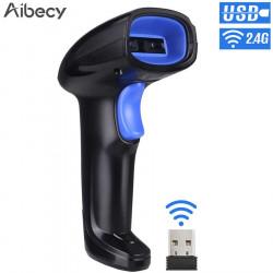 1D Scanner laser per lettura codici a barre - lettore a pistola per barcode USB e wi fi