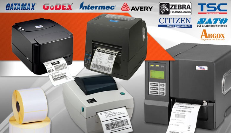 stampanti etichettatrici industriali e desktop