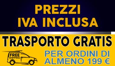 prezzi iva inclusa trasporto gratis
